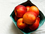 Nectarine Ginger Pie Filling