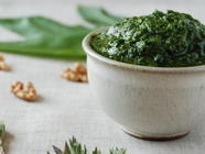 Nettle Ramp Pesto, Dairy Free found on PunkDomestics.com
