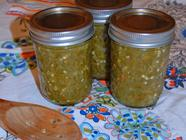 "Nuclear Fission ""Hots"" Pepper Relish"