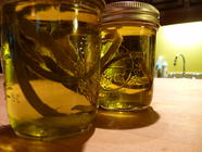 Garlic Scape Infused Oil