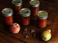 Peach and Pear Chutney found on PunkDomestics.com