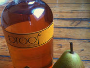 Pears in Simple Syrup and (Hiccup!) Whisky