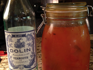 Persimmon Infused Dolin Vermouth