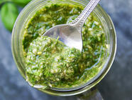 Pesto with Truffle Oil found on PunkDomestics.com