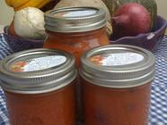 Sugar-Free Sweet Carrot Cranberry Lime Sauce found on PunkDomestics.com
