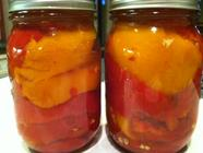Canning Marinated Bell Peppers - It's Safe! found on PunkDomestics.com