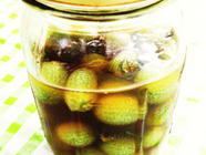 Tequila-Pickled Gherkins found on PunkDomestics.com