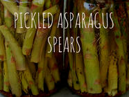 Pickled Asparagus Spears - Umami Times Ten found on PunkDomestics.com