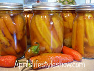 Hot Pickled Carrots found on PunkDomestics.com