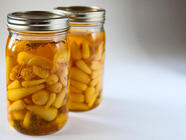 Pickled Ramps With Saffron