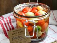 Quick Pickled Tomatoes found on PunkDomestics.com