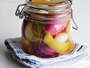 Juniper-Pickled Cocktail Onions found on PunkDomestics.com