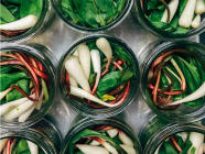 Easy Pickled Ramps found on PunkDomestics.com
