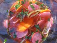 Quick Pickled Spring Vegetables