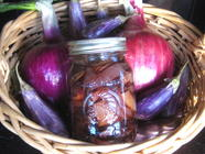 Pickled Balsamic Eggplant