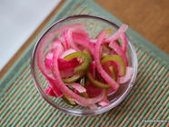Pickled Jalapeno with Red Onions found on PunkDomestics.com