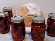 Sweet and Spicy Pickled Cherries