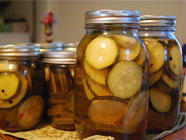 Pickled Zucchini, found on PunkDomestics.com