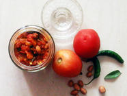 Tomato Ginger Peanut Chutney found on PunkDomestics.com