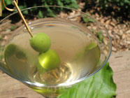 Plantinis - Plantain Leaf Martinis