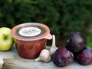 Plum Apple Chutney