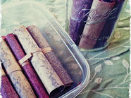 Plum-Berry Balsamic Fruit Leather found on PunkDomestics.com