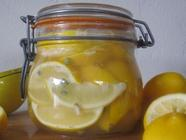 Salt Preserved Lemons