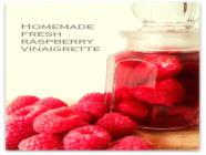Sugar Free Fresh Raspberry Vinaigrette
