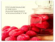 Sugar Free Fresh Raspberry Vinaigrette found on PunkDomestics.com