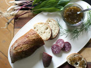Candied Ramp & Fennel Jam found on PunkDomestics.com