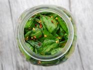 Ramp (Greens) Kimchi