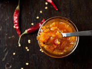 Rangpur Lime Preserves with Honey & Chile