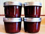 Vanilla Rhubarb Jam found on PunkDomestics.com