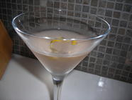 Rhubarb Vodka Martini found on PunkDomestics.com