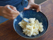 Homemade Ricotta (or Day) Cheese