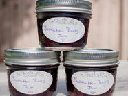 Saskatoon Berry Jam (Regular and NSA) found on PunkDomestics.com