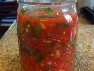 One-Jar Fermented Salsa