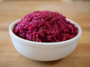 Red Cabbage Fermented Curtido found on PunkDomestics.com