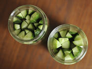 Small Batch Refrigerator Dill Pickles found on PunkDomestics.com