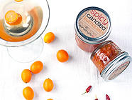 Spicy Candied Kumquats