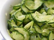 Quick Pickled Cucumbers found on PunkDomestics.com