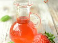 Strawberry and Basil Vinegar found on PunkDomestics.com