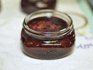 Small Batch Strawberry Vanilla Jam  found on PunkDomestics.com