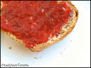 Homemade Strawberry Jam found on PunkDomestics.com