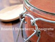 Roasted Strawberry Vinaigrette found on PunkDomestics.com