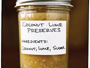 Coconut Lime Preserves