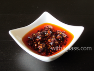 Thick and Crunchy Japanese Chili Sauce