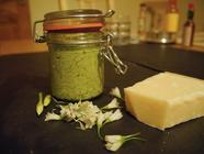 Three Cornered Leek Pesto found on PunkDomestics.com