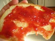 Rhubarb Strawberry Jam found on PunkDomestics.com