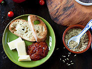 Spicy Indian Tomato Chutney found on PunkDomestics.com